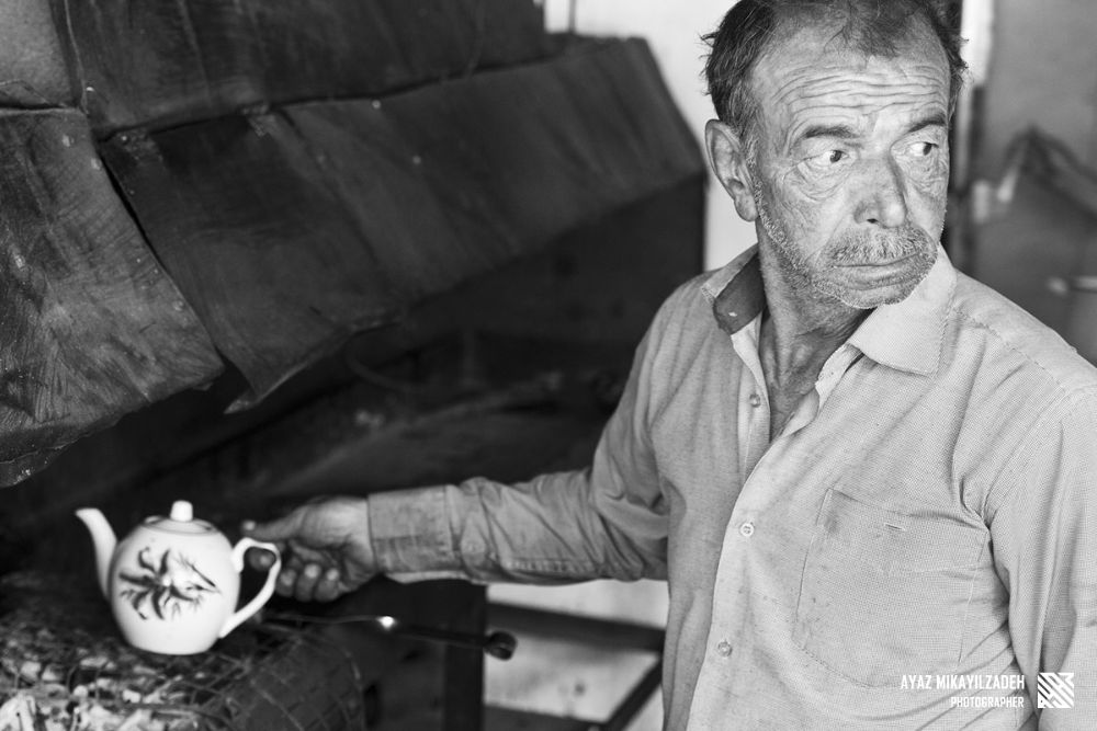 Photo in Portrait #portrait #tea #old man #azerbaijan #ismayilli #lahich