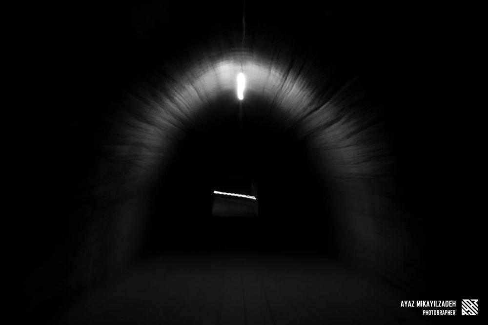 Photo in Abstract #illuzia #tunnel #road