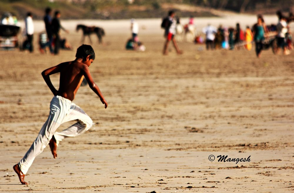 I Believe I Can Fly... by Mangesh