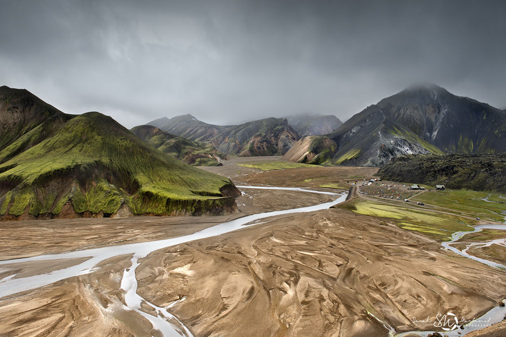 Landmannalaugar view by Sarah Martinet