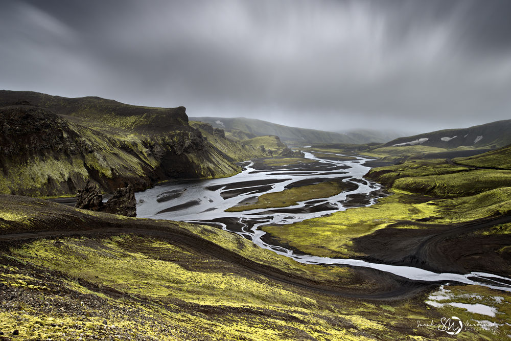 the river to cross by Sarah Martinet