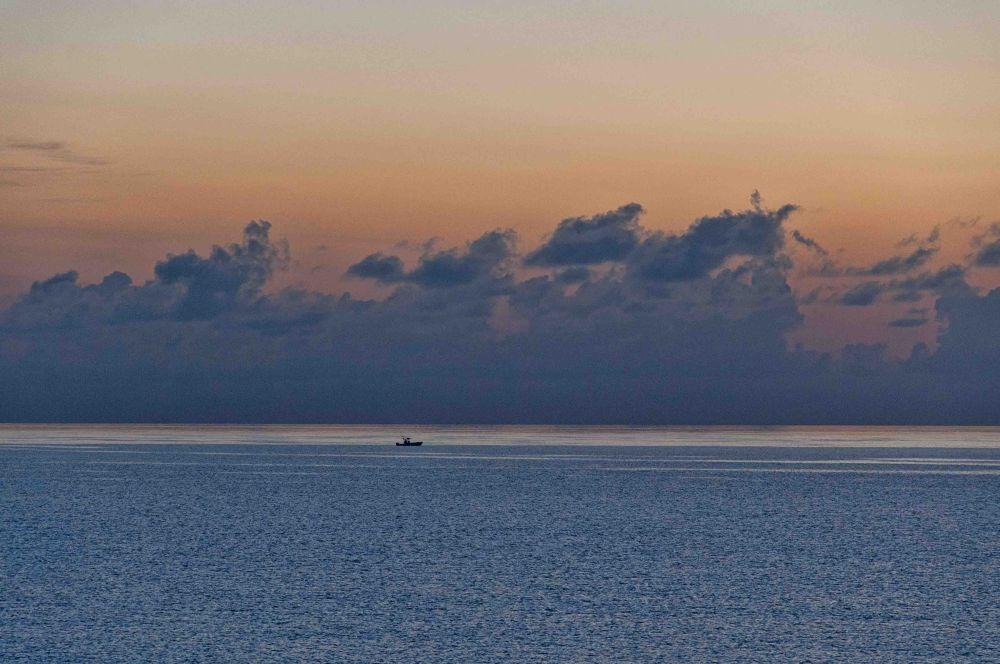 Atlantic Ocean off the East Coast of Florida by Raftguy