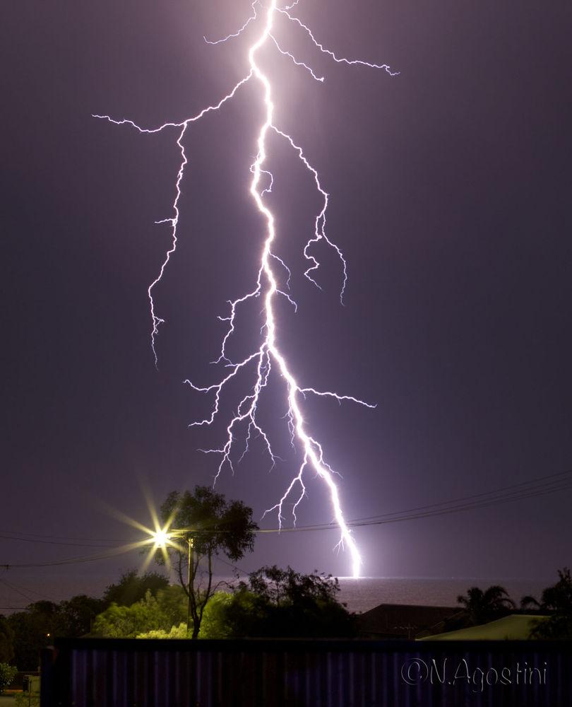 lightning by Nathan Agostini