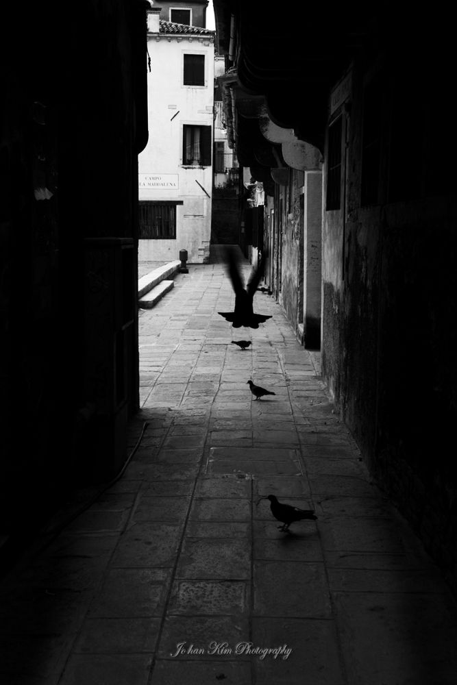 On the alleyway by Jo han Kim