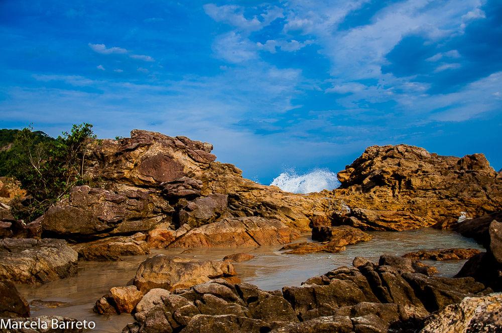 Praia Caixa D'aço Trindade / Paraty Rj Brasil by marcelabarreto737