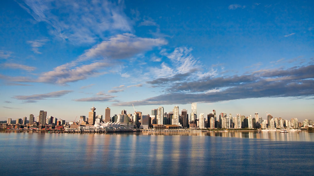 Morning rise on Vancouver by Michel Filion