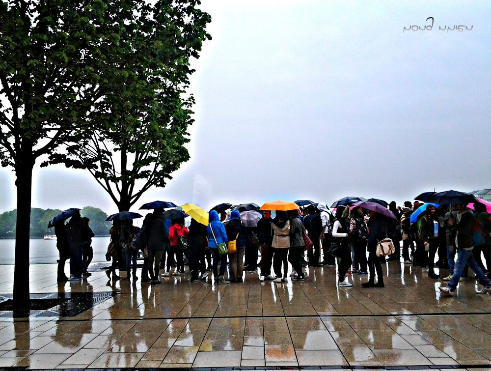 Photo in Street Photography #...waiting in the rain
