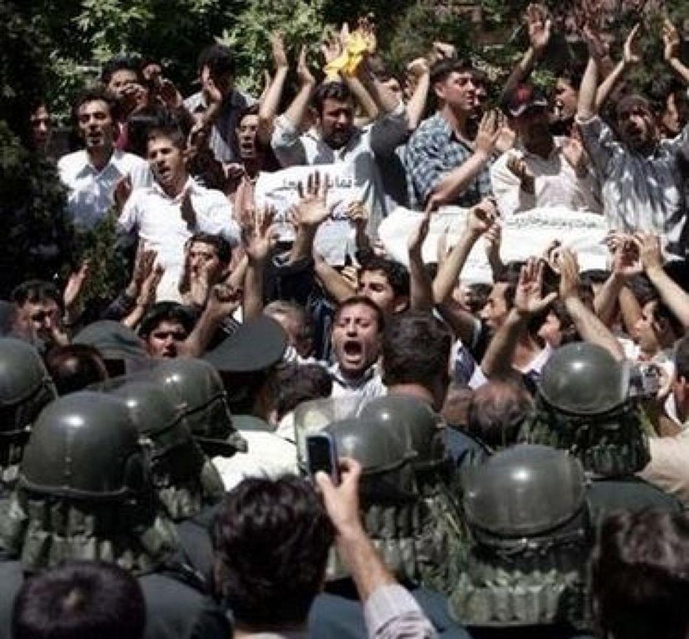 iranprotest6[1] by rostamosohrab