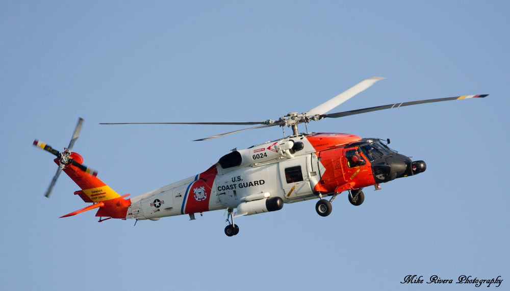 US Coast Guard Helicopter  by Florida Wildlife Gallery