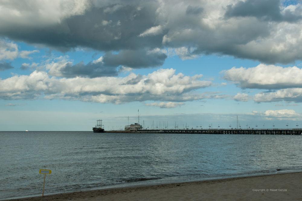 Sopot pier by Pawel Gerula