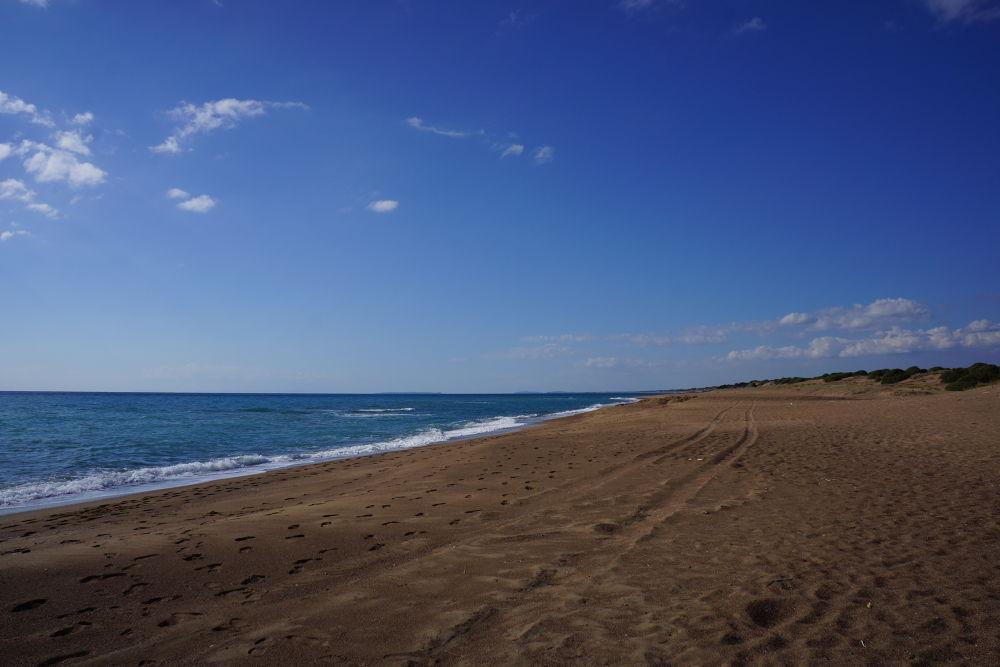 The long beach by Konstantin