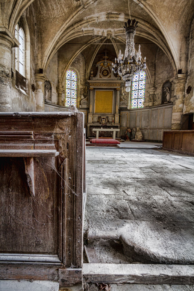 The Little Abandoned Church by anthonysuply