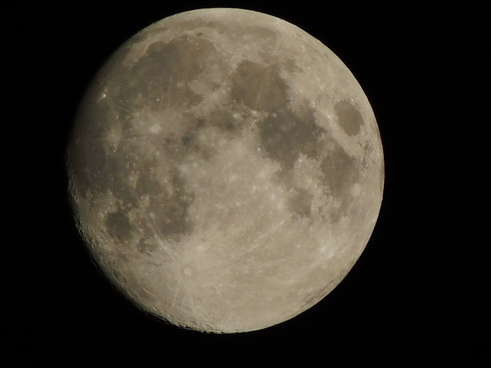 Photo in Astrophotography #moon #craters #nikon