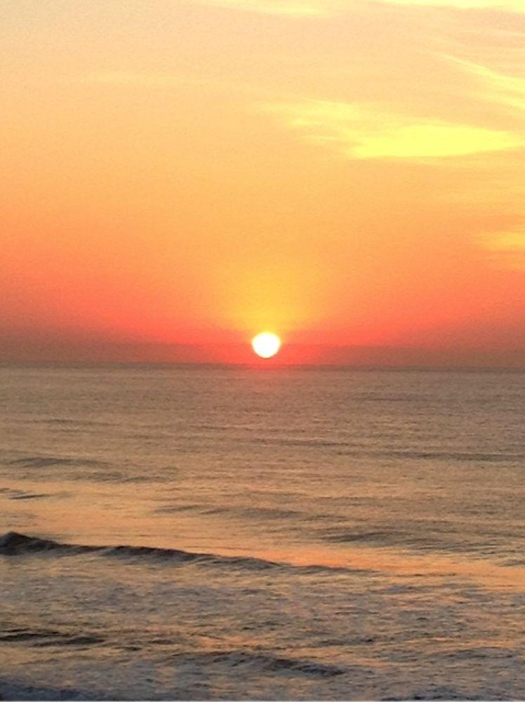 Sunrise at south coast by Swami Vimokshananda