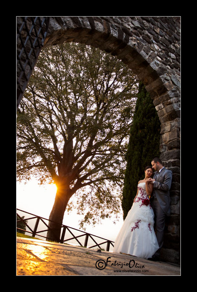 bride and groom by FabrizioOlivaFotografo