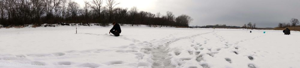 winter fishing by fohalu
