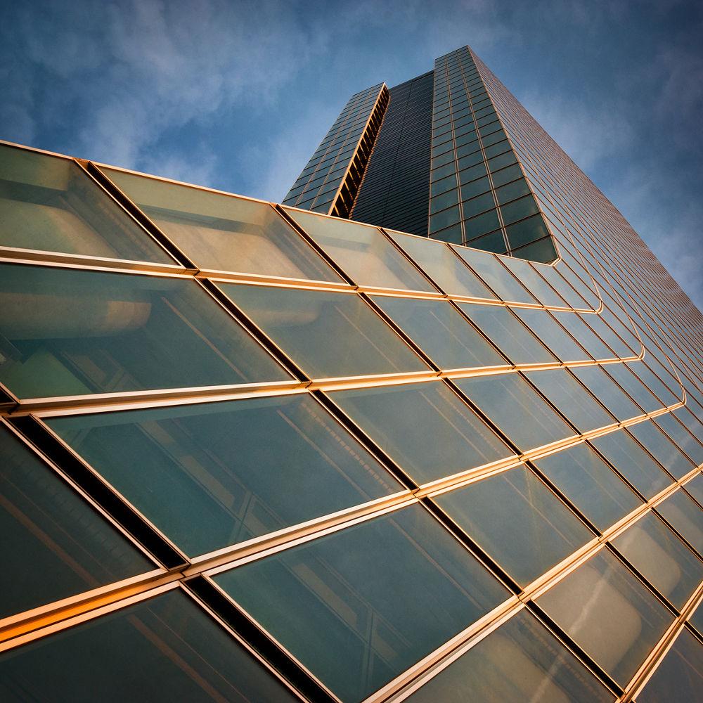Photo in Architecture #building #tower #ciel #cloud #nuage #marseille #vitre