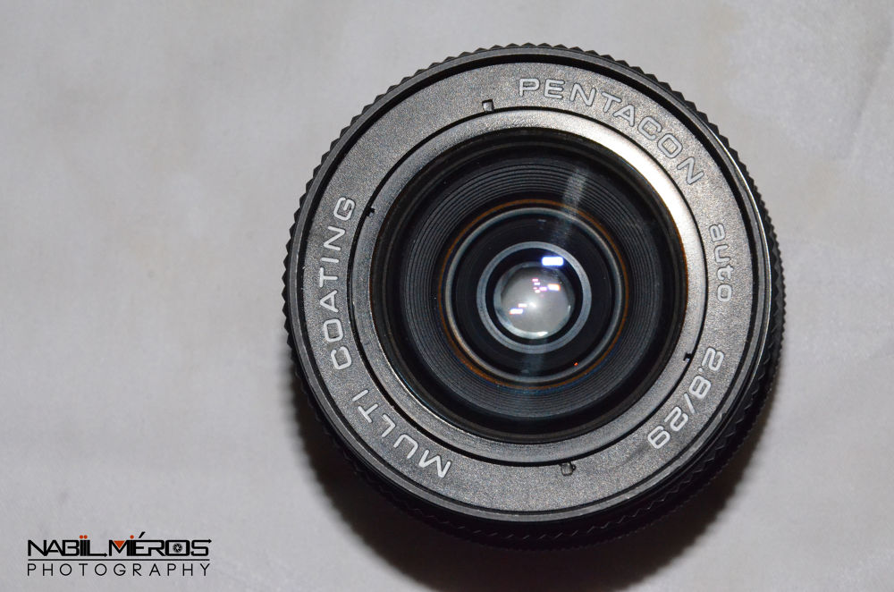 Camera Lens by Nabil MROZIYA