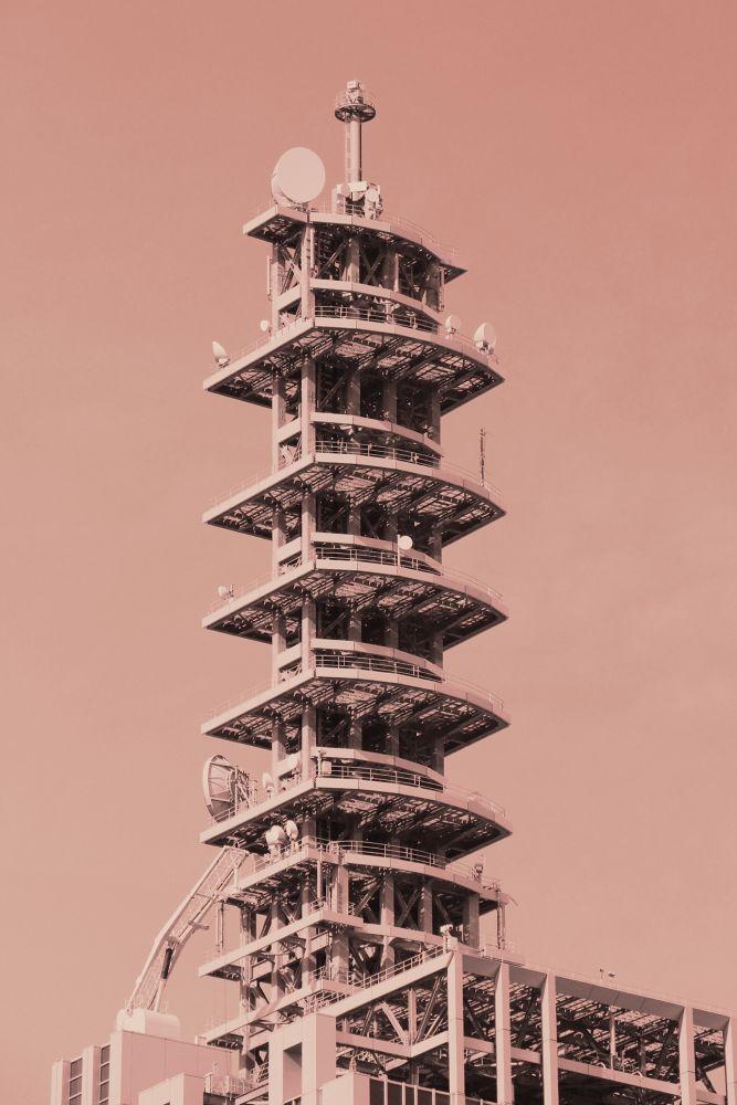 Tower of Antenna by Manabu Moriwaki