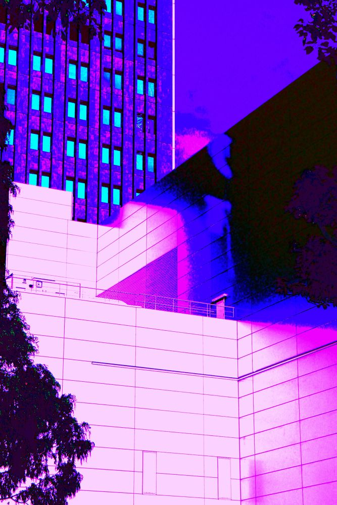 Wall of Building by Manabu Moriwaki