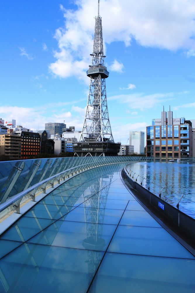 Photo in Abstract #nagoya #tv #tower