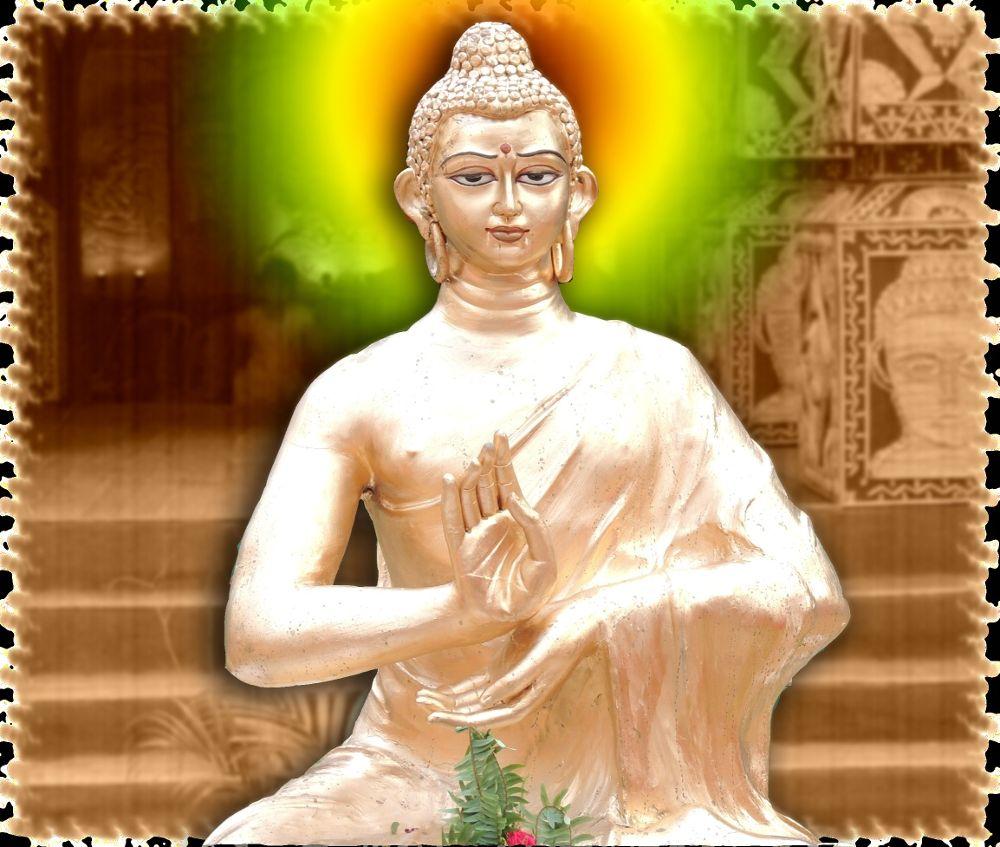 The Lord Buddha by Amritava Roy