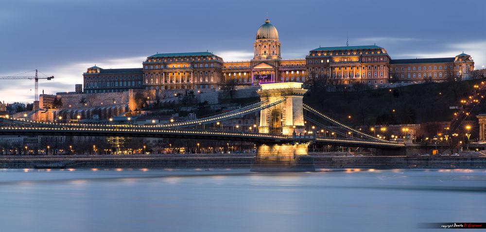 Budapest at Dusk by Danilo Di Giovanni