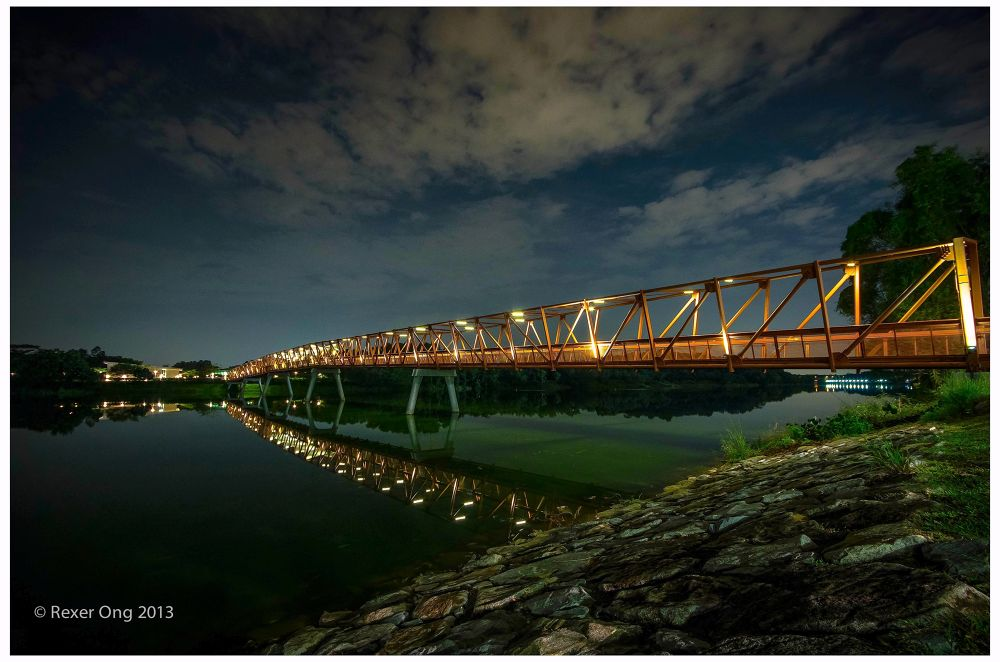 Bridge on a silent night by rexerong