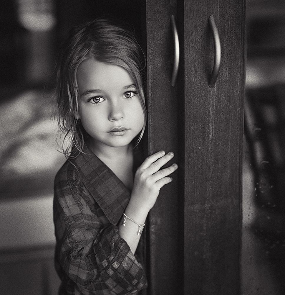 Photo in Black and White #kira