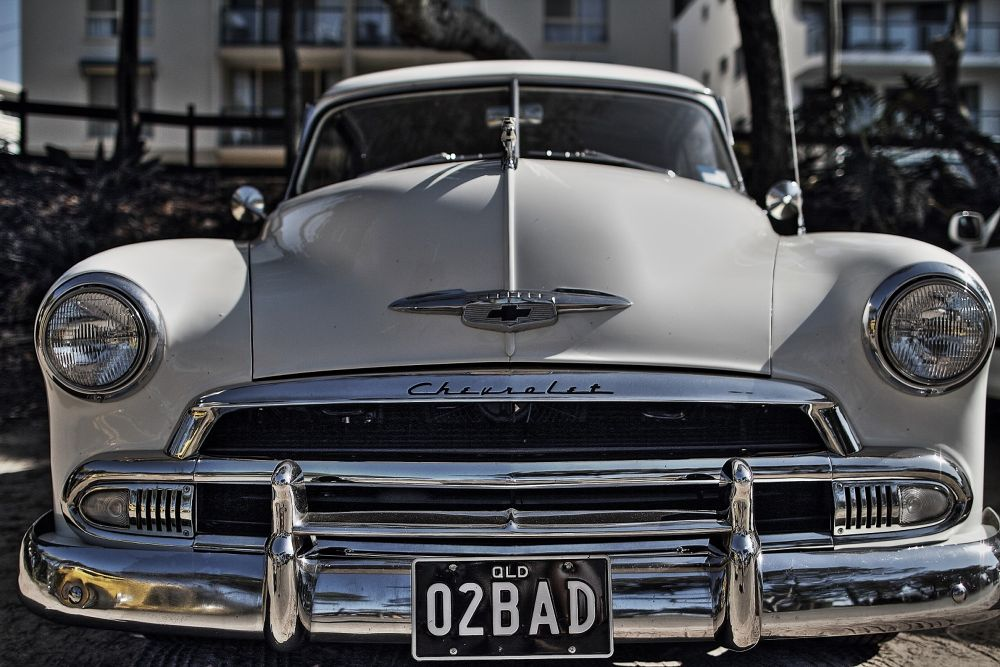 Classic Chevy by Howard Ferrier
