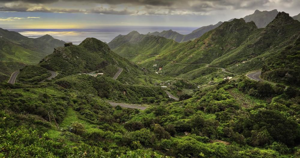 Mercedes Mountains in Tenerife. by Ray Bilcliff