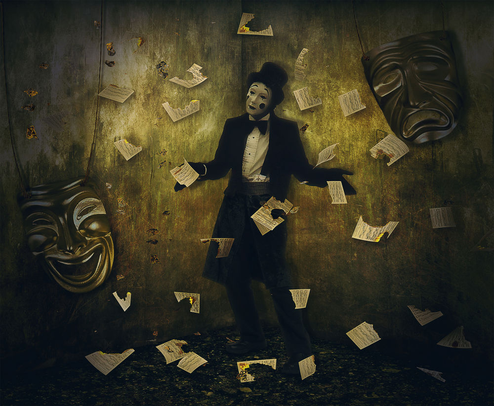 Photo in Fine Art #photomanipulation