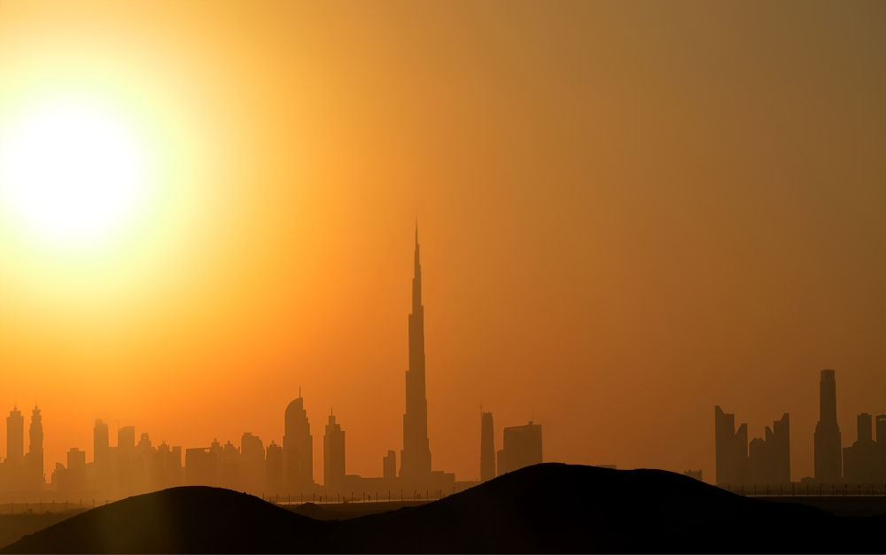 Sunset Dubai by Nataliorion