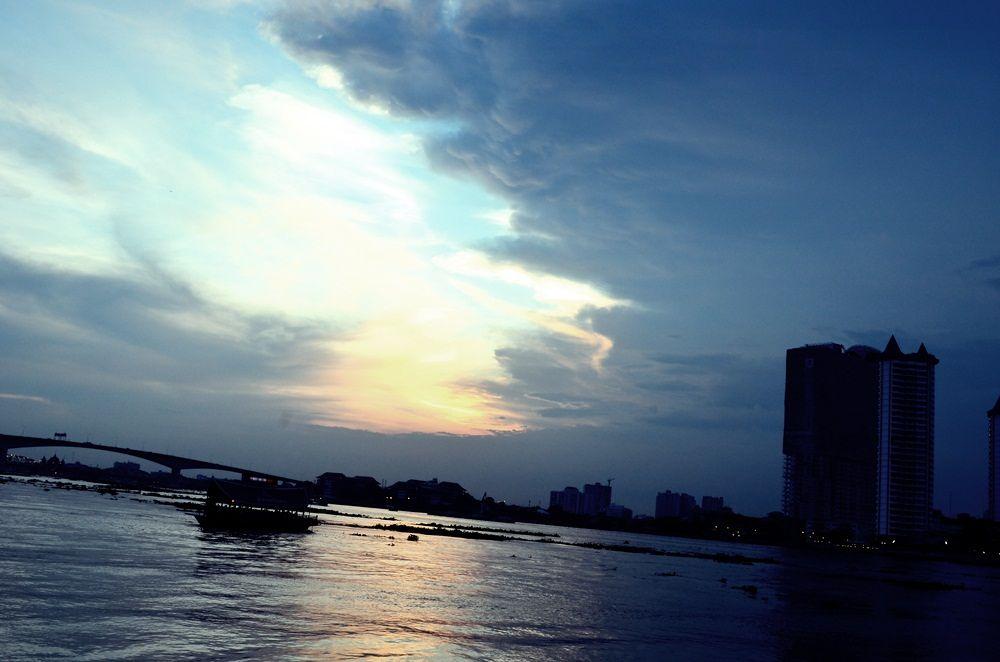 view near the river  by Nok Kanokjan
