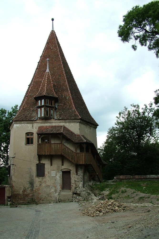 Segesvári vár tornya by Dombora Sándor