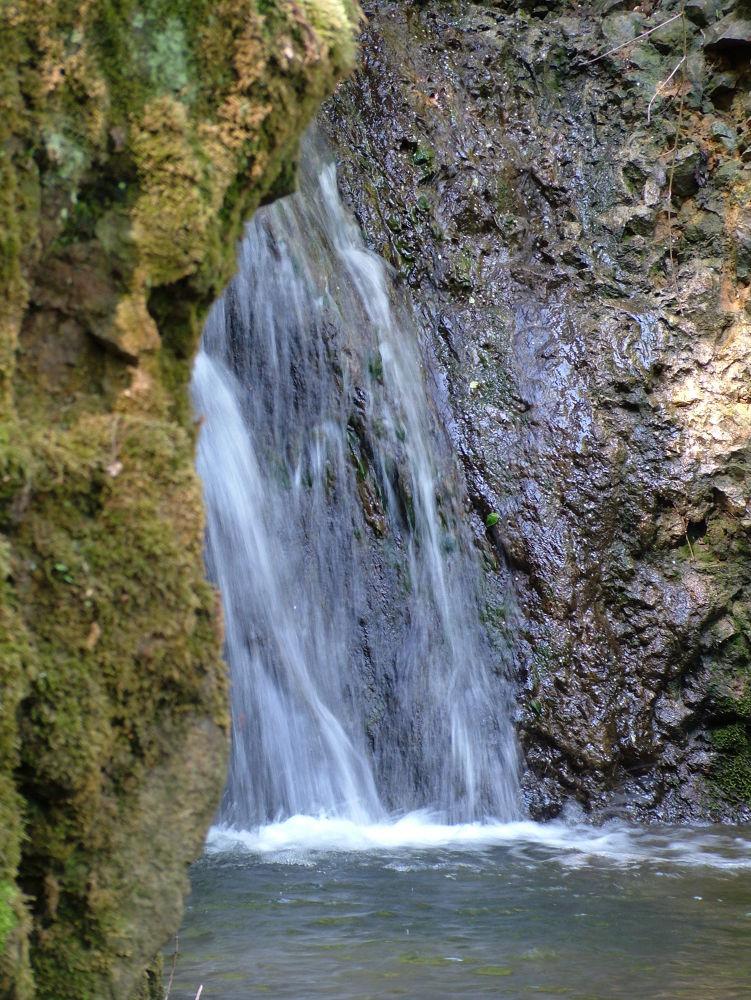 Waterfall by Sándor Dombora