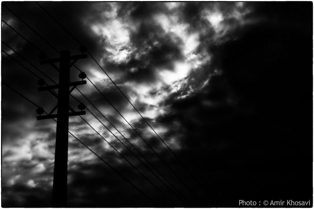 Photo in Black and White #iran #gilan #amir khosravi #bw #dark world #darks #dark