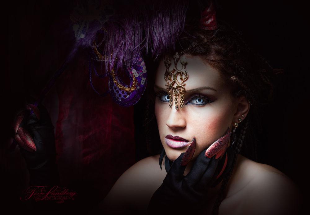 Photo in Fine Art #fineart #lady #scary #beauty
