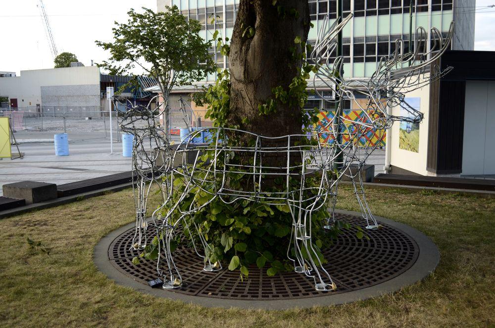 Deers 1 by Jonathon Godinet