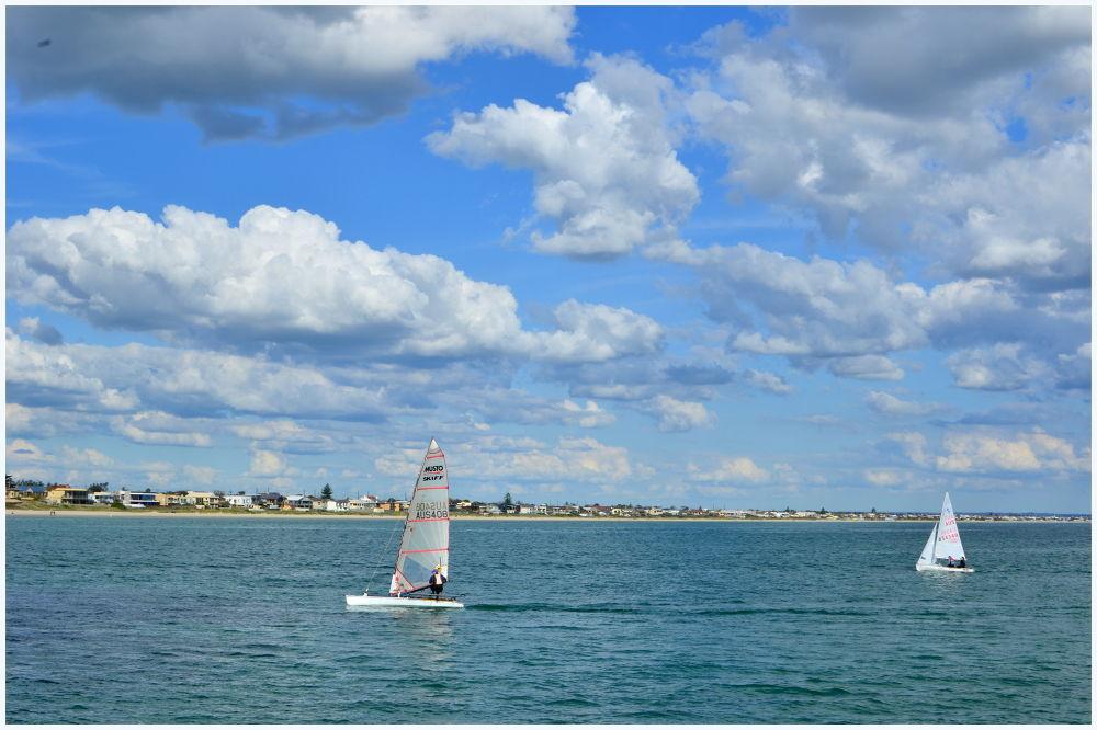 Windsurfing by davidngsh