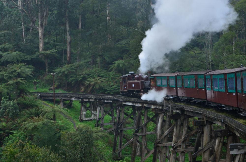 Steam Engine by davidngsh
