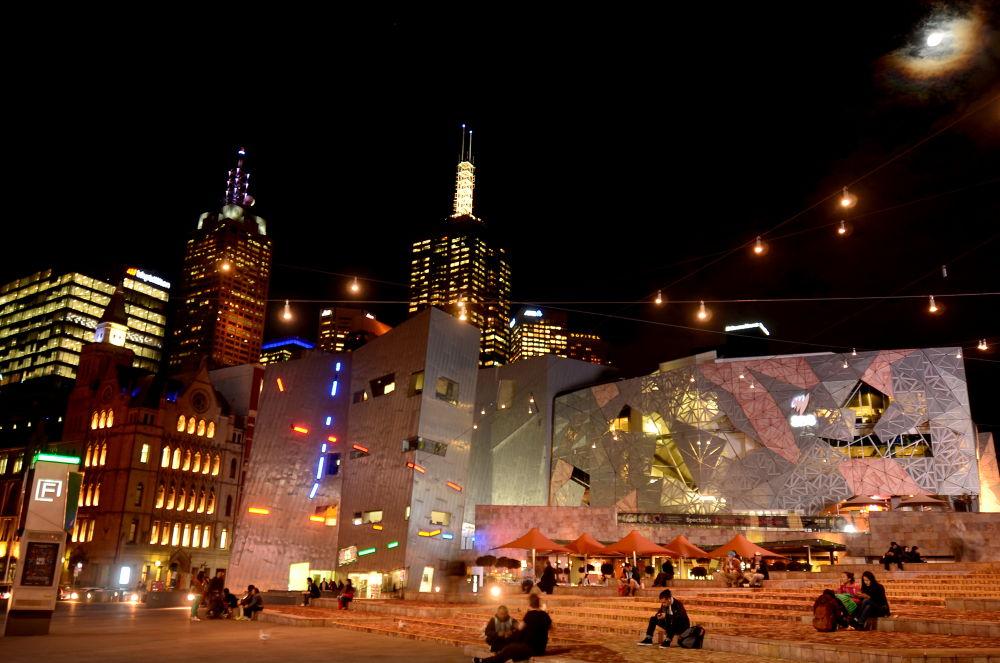 Federation Square, Melbourne DSC_4401 by davidngsh