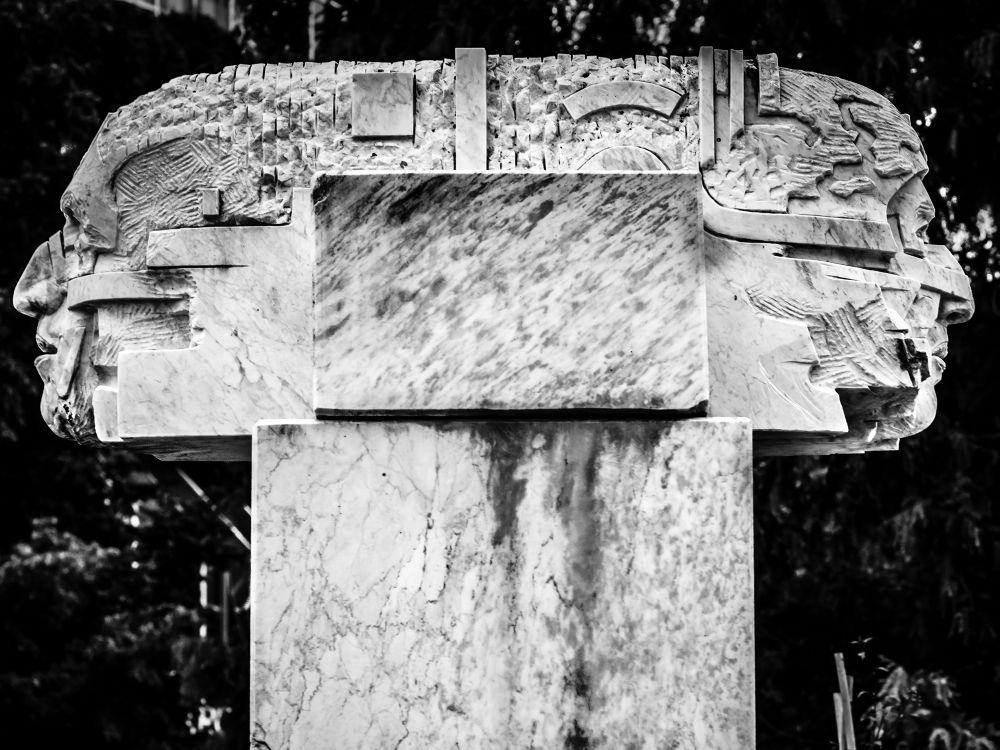 Photo in Black and White #sculpture #b&w #germany #bietigheim-bissingen