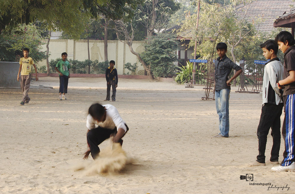The Long Jump_IMG_5956 A by Indresh Gupta