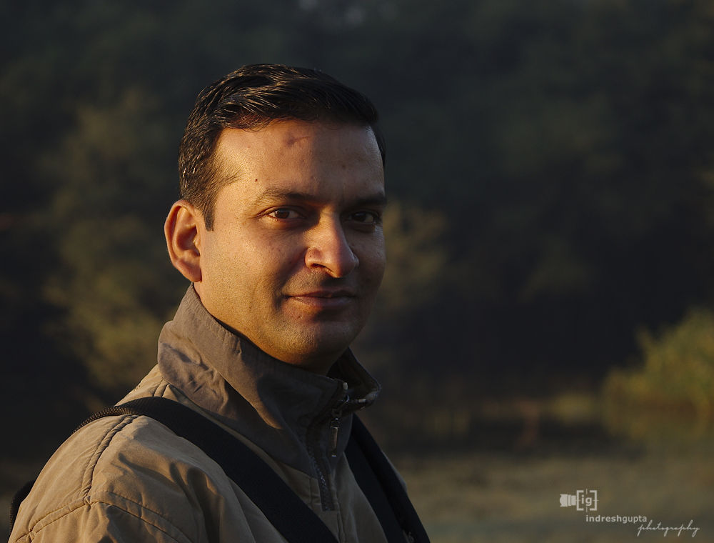 SJ Portrait IMG_4664 A by Indresh Gupta