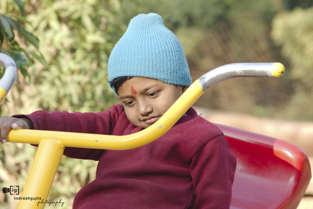 Play Time_IMG_5215 A by Indresh Gupta