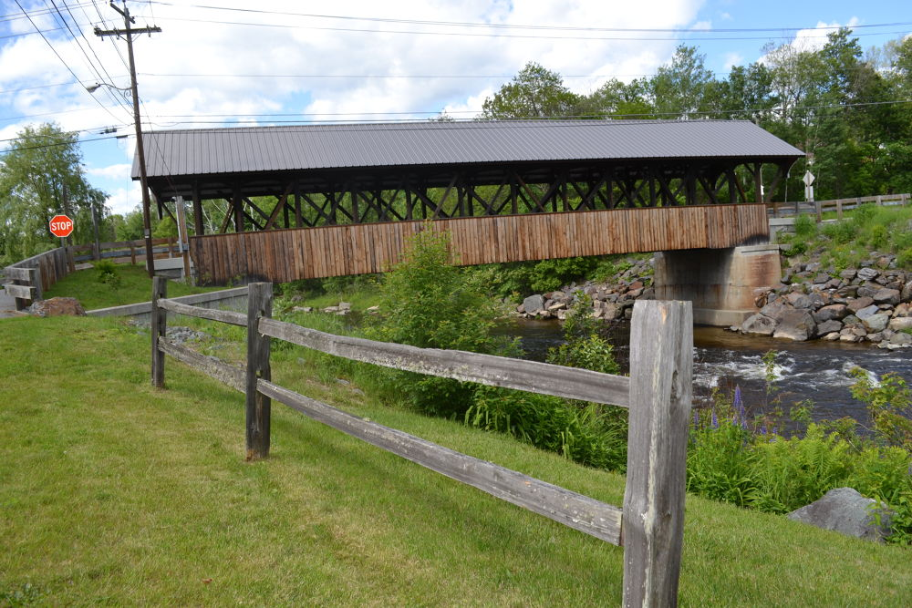 Covered bridge by Rachel Wohld