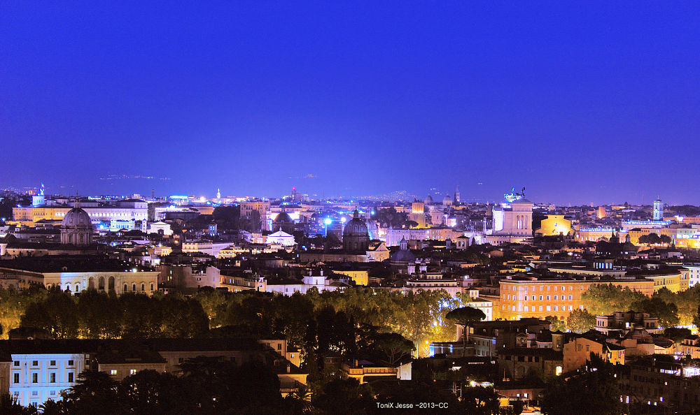 Rome nightscape#1 by tonixjesse