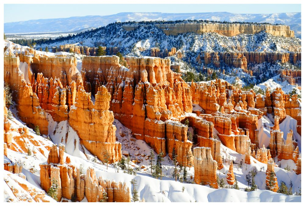Bryce Canyon In Winter by visbimmer79