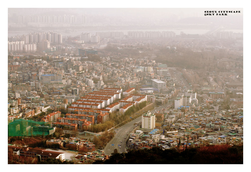 Seoul On A Foggy Day by visbimmer79